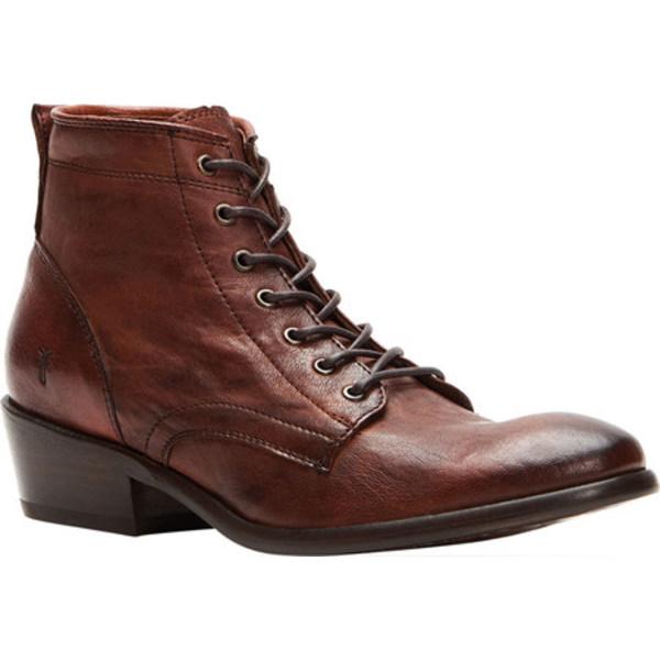 フライ レディース ブーツ&レインブーツ シューズ Carson Lace Up Ankle Bootie Cognac Antique Soft Vintage Leather