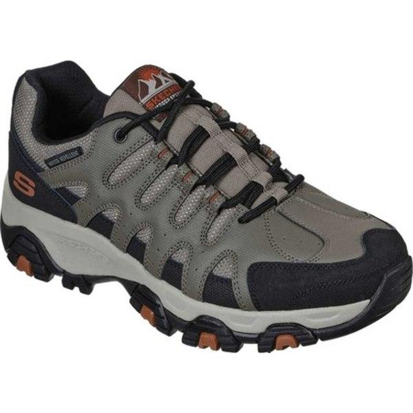 スケッチャーズ メンズ ブーツ&レインブーツ シューズ Relaxed Fit Terrabite Trail Shoe Brown/Black