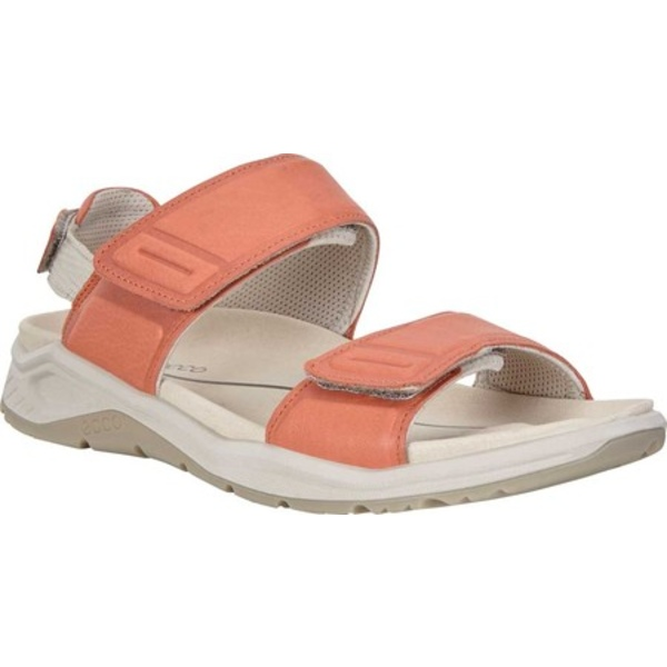 エコー レディース サンダル シューズ X-Trinsic Active Sandal Apricot Yak Leather