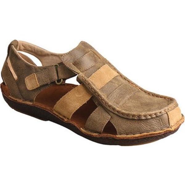 ツイステッド エックス メンズ ブーツ&レインブーツ シューズ MLW0004 Leather Wrap Sandal Bomber Leather