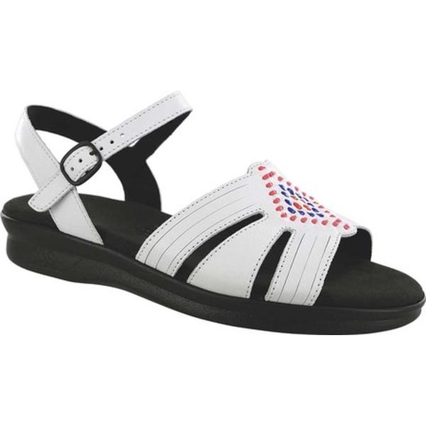 エスエーエス レディース オックスフォード シューズ Huarache Ankle Strap Sandal Chalk Leather