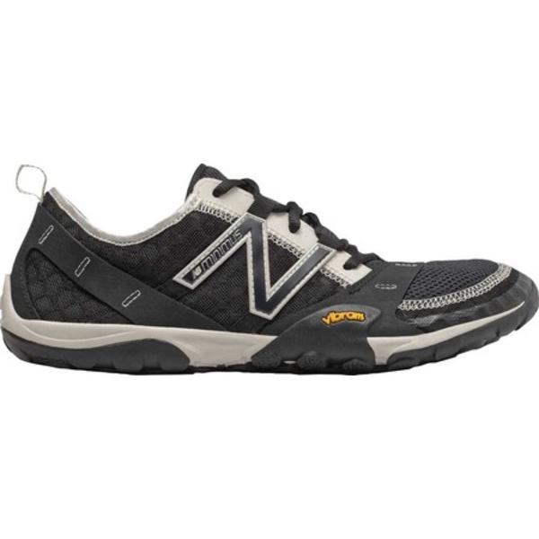 ニューバランス メンズ ブーツ&レインブーツ シューズ Minimus 10v1 Trail Running Shoe Black/Moonbeam