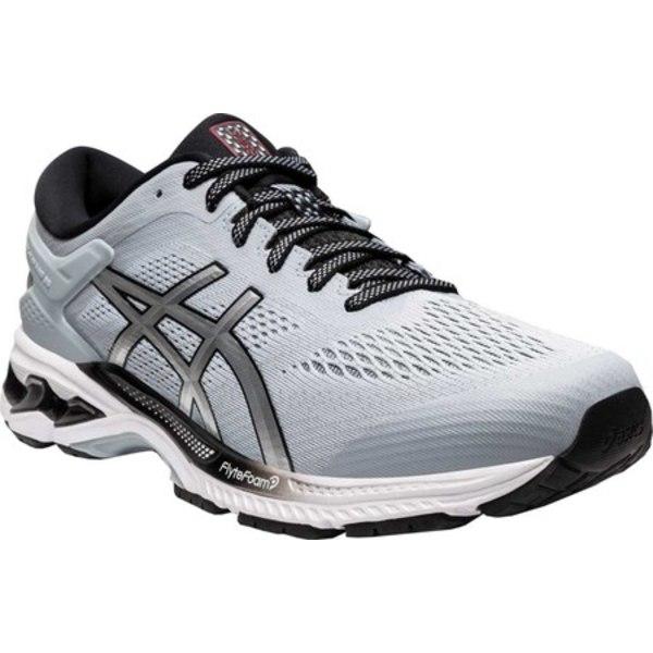 アシックス メンズ スニーカー シューズ GEL-Kayano 26 Running Shoe Piedmont Grey/Pure Silver