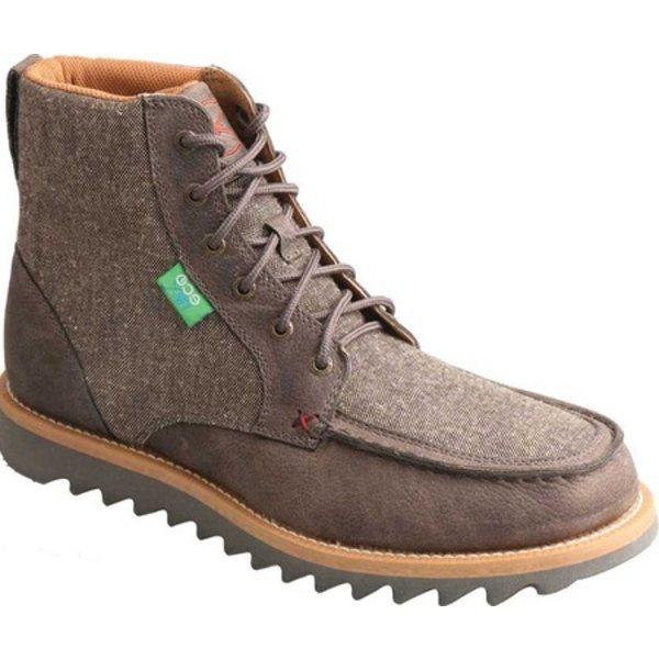 ツイステッド エックス メンズ ブーツ&レインブーツ シューズ MCA0020 Casual ECO TWX Wedge Boot Grey/Dust Leather