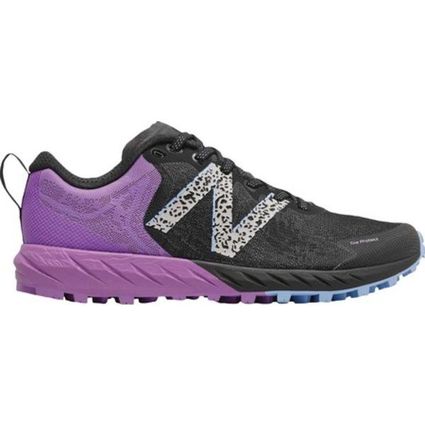 ニューバランス レディース スニーカー シューズ Summit Unknown v2 Trail Running Shoe Black/Neo Violet