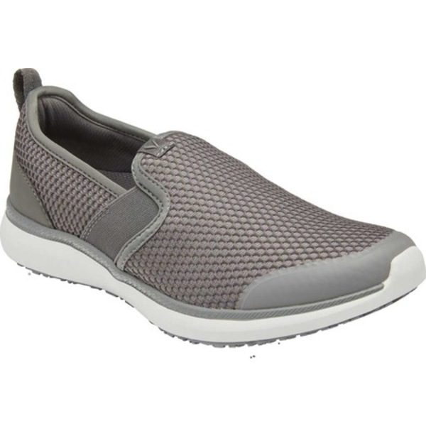 バイオニック レディース スニーカー シューズ Juliana Slip On Sneaker Slate Grey Textile