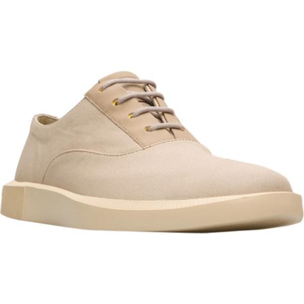 カンペール メンズ ドレスシューズ シューズ Bill Plain Toe Oxford Medium Beige Cotton/Calfskin