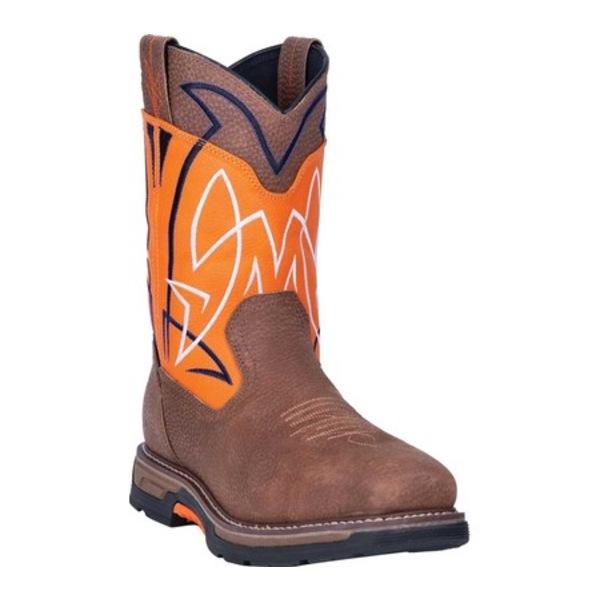 ダンポスト メンズ ブーツ&レインブーツ シューズ Storm Surge Composite Toe Boot DP59419 Orange Waterproof Full Grain Leather
