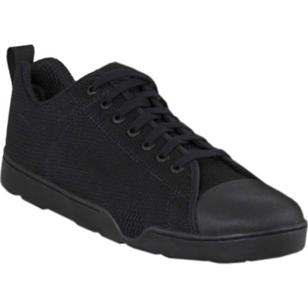 アルタマ メンズ スニーカー シューズ Urban Assault Low Sneaker Black Flex Knit