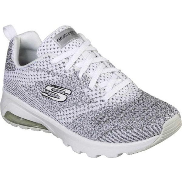 スケッチャーズ レディース スニーカー シューズ Skech-Air Extreme Not Alone Sneaker White/Black