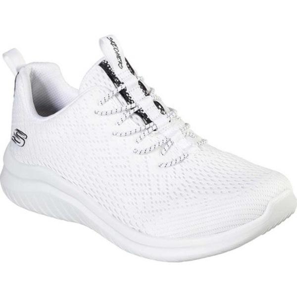 スケッチャーズ レディース スニーカー シューズ Ultra Flex 2.0 Lite-Groove Sneaker White