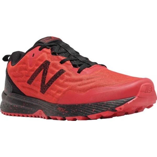 ニューバランス メンズ スニーカー シューズ Nitrel v3 Trail Running Shoe Red/Black
