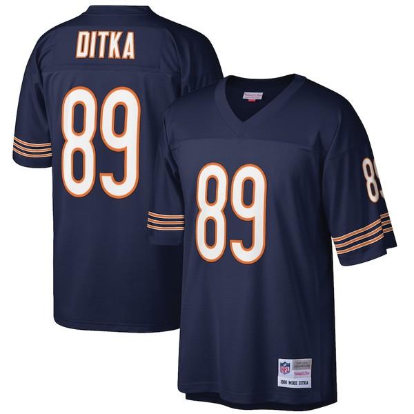 ミッチェル&ネス メンズ シャツ トップス Mike Ditka Chicago Bears Mitchell & Ness Retired Player Legacy Replica Jersey Navy