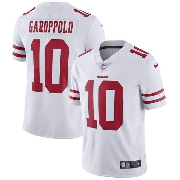 ナイキ メンズ シャツ トップス Jimmy Garoppolo San Francisco 49ers Nike Vapor Untouchable Limited Jersey White