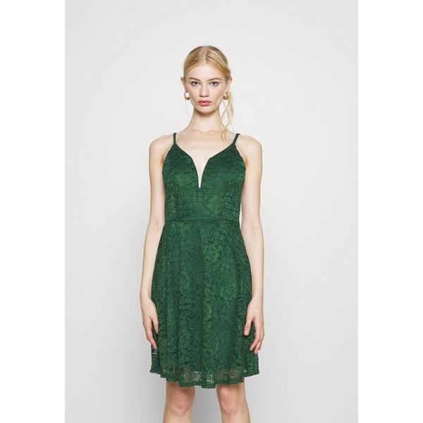 ヴァル 2020モデル ジー レディース トップス ワンピース forest green 全商品無料サイズ交換 dress STRAPPY CAMRYN - Day cfip01b0 DRESS SKATER 爆買い新作
