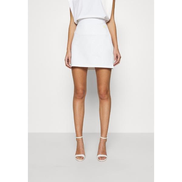 1着でも送料無料 カルバンクライン 公式ストア レディース ボトムス スカート bright white 全商品無料サイズ交換 cfip01b3 - MILANO Mini SKIRT skirt