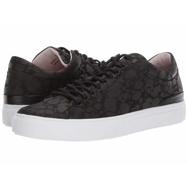ブラックストーン メンズ スニーカー シューズ Low Sneaker - RM11 Black Terrazzo