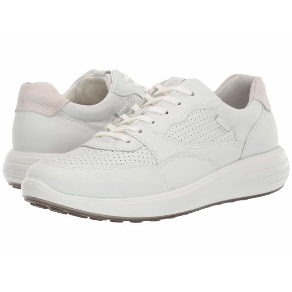 エコー レディース スニーカー シューズ Soft 7 Runner Sneaker White/Shadow White