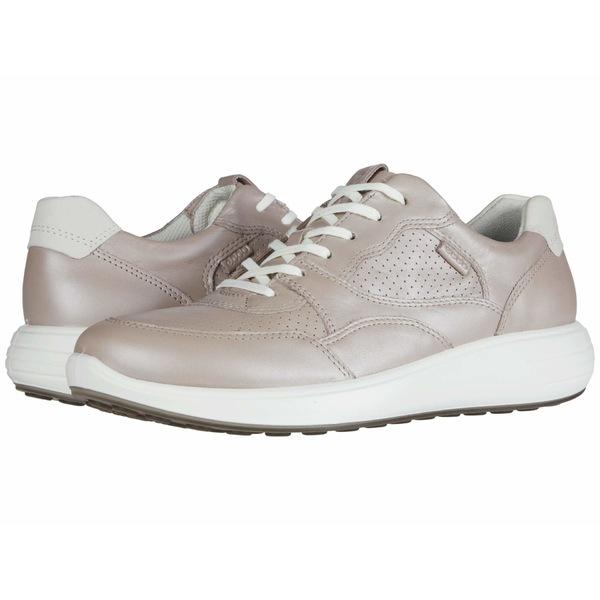 エコー レディース スニーカー シューズ Soft 7 Runner Sneaker Grey Rose Metallic/Shadow White Cow Leather/Yak Nubuck