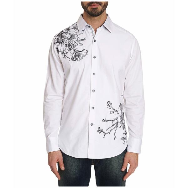 ロバートグラハム メンズ シャツ トップス Memento Shirt White