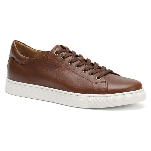 トラスク メンズ スニーカー シューズ Trask Alder Sneaker (Men) Saddle Tan