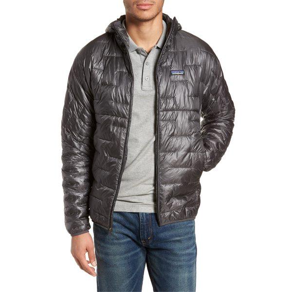 パタゴニア メンズ ジャケット&ブルゾン アウター Patagonia Micro Puff Jacket Forge Grey