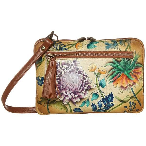 アヌスカ レディース ハンドバッグ バッグ Convertible Belt Bag/Crossbody Zip Around - 663 Caribbean Garden