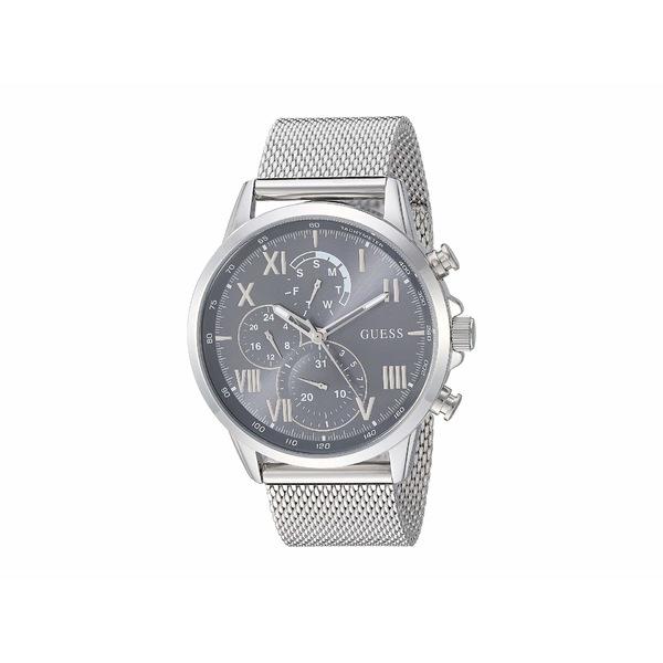 ゲス メンズ 腕時計 アクセサリー U1310G1 Silver-Tone