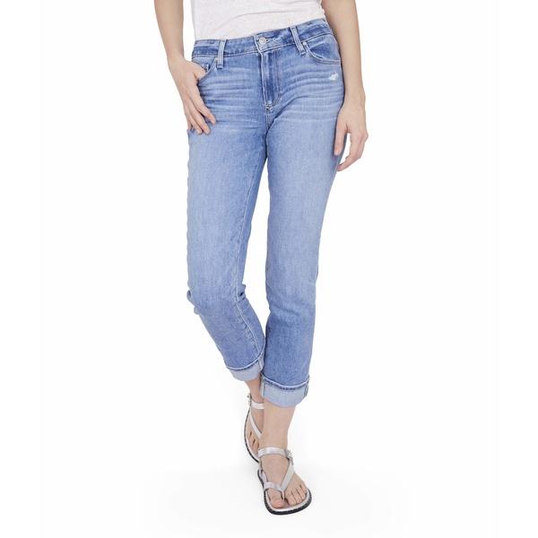 ペイジ レディース デニムパンツ ボトムス Brigitte Jeans in Folk Distressed Folk Distressed