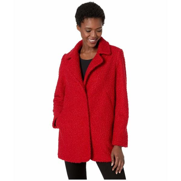 カレンケーン レディース コート アウター Boucle Coat Red