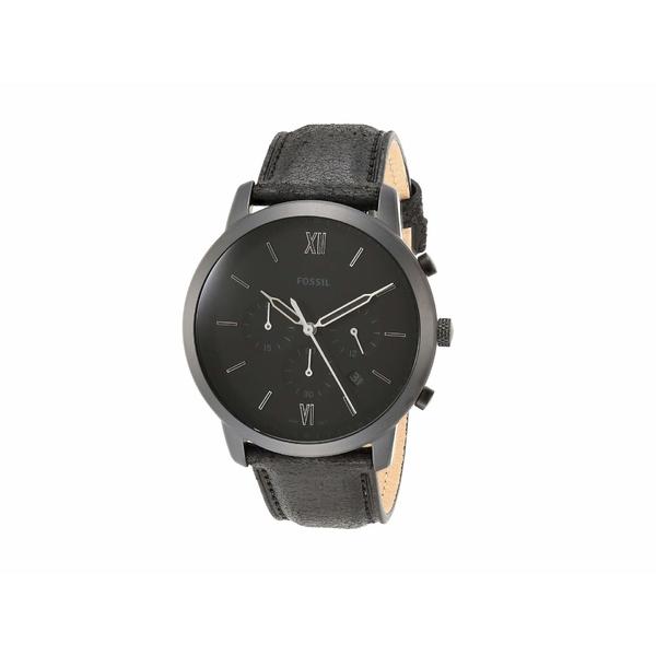 フォッシル メンズ 腕時計 アクセサリー Neutra Chrono - FS5503 Black