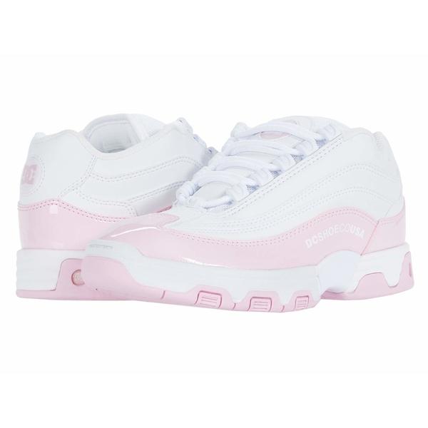 ディーシー レディース スニーカー シューズ Legacy Lite White/Pink