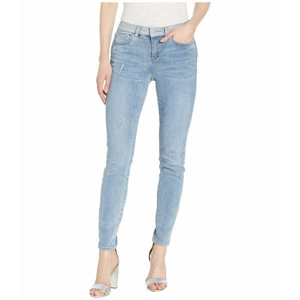 ヴィンスカムート レディース デニムパンツ ボトムス Indigo Five-Pocket Skinny Jeans with Contrast Band in Spectrum Blue Spectrum Blue