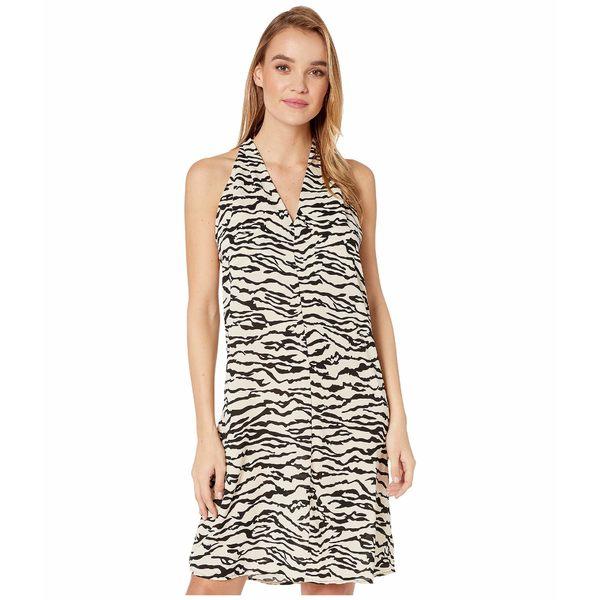 ビジョッププラスヤング レディース ワンピース トップス Untamed T-Back Dress Zebra Print