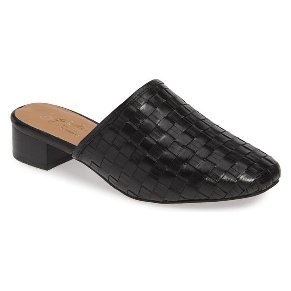 セイシェルズ レディース サンダル シューズ Seychelles Originality Mule (Women) Black Woven Leather