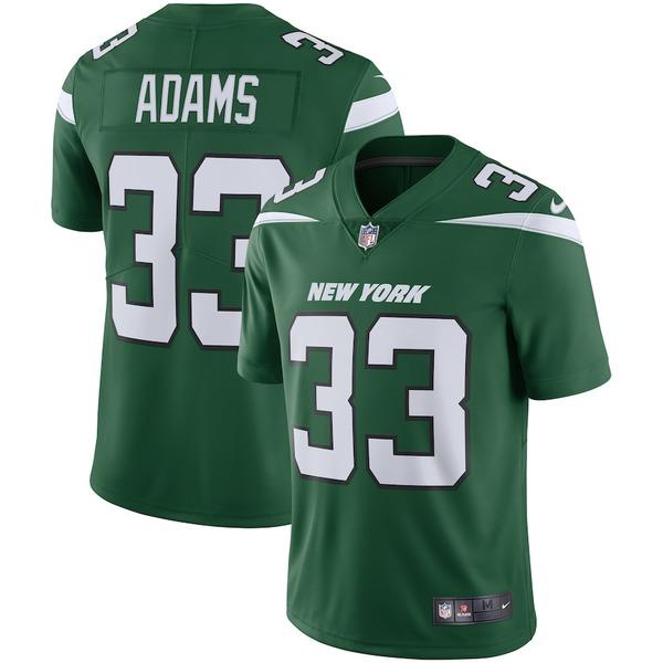 ナイキ メンズ シャツ トップス Jamal Adams New York Jets Nike Vapor Limited Jersey Gotham Green
