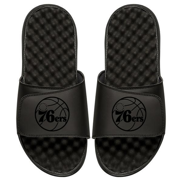 アイスライド メンズ サンダル シューズ Philadelphia 76ers ISlide Tonal Slide Sandals Black