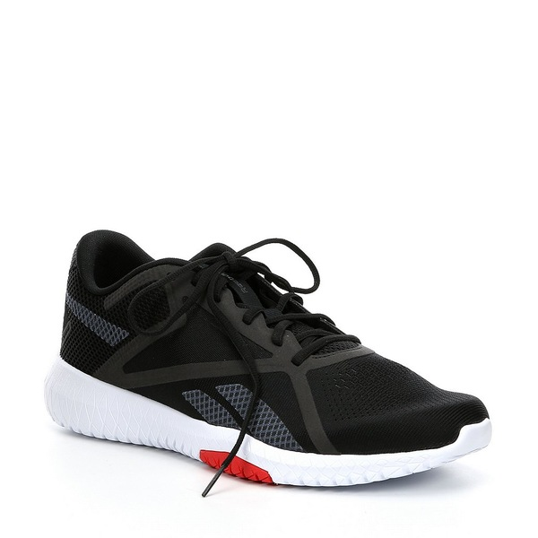 リーボック メンズ スニーカー シューズ Men's Flexagon Force 2 Training Shoe Black/True Grey 7/Primal Red