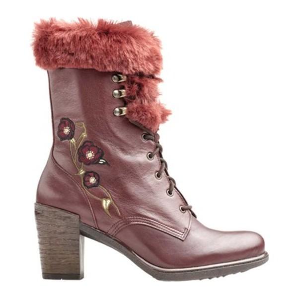 【レビューを書けば送料当店負担】 ドロメダリス レディース ブーツ&レインブーツ シューズ Goldie Lace Up Mid Calf Boot (Women's) Wine Leather, パリセレクトショップ「Julietta」 2d7693c9