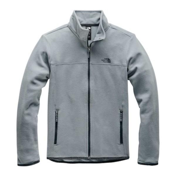 ノースフェイス レディース アウター 信用 ジャケット ブルゾン Mid Grey Women's Jacket 専門店 Glacier TKA Full Zip 全商品無料サイズ交換