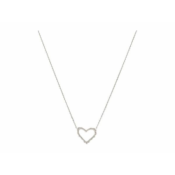 ケンドラスコット レディース ネックレス・チョーカー・ペンダントトップ アクセサリー Sophee Heart Small Pendant Necklace Rhodium Metal