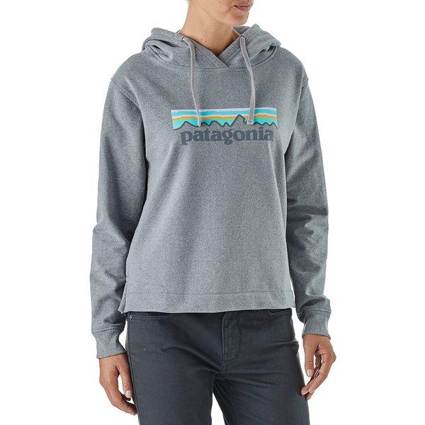 パタゴニア レディース パーカー・スウェットシャツ アウター Patagonia Women's Pastel P-6 Logo Uprisal Hoodie GravelHeather
