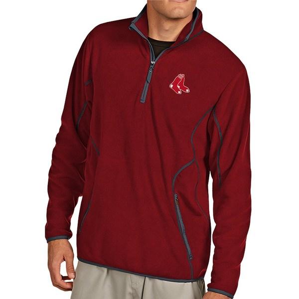 アンティグア メンズ ニット&セーター アウター MLB Ice Pullover Red Sox Red/Steel
