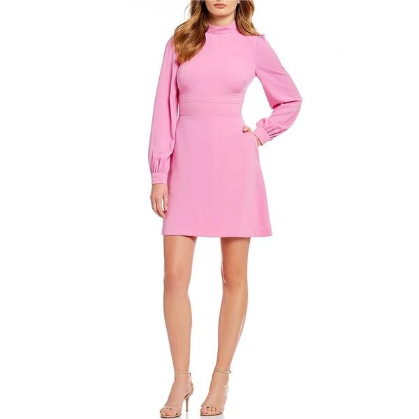 ジルスチュアート レディース ワンピース レディース トップス Mock Dress Neck Sugar A-Line Dress Sugar Pink, masa nagoya:662f0a18 --- officewill.xsrv.jp
