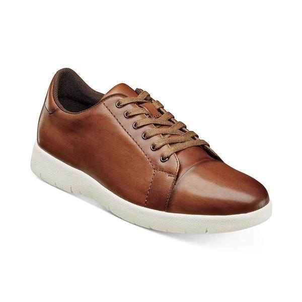 Hawkins Sneakers ドレスシューズ Oxford Toe Men's Cap Cognac シューズ メンズ ステイシーアダムス
