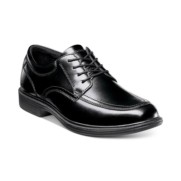 Street ノンブッシュ Men's Bourbon ドレスシューズ Black Shoes シューズ メンズ Dress Casual