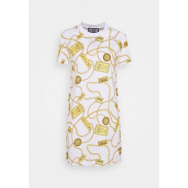 ワンピース - レディース DRESS white comx00fd Jersey ベルサーチ - dress トップス