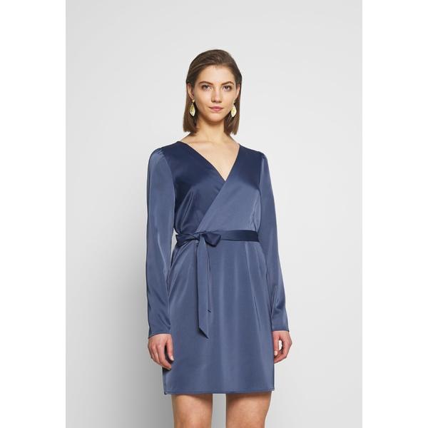 エヌ エー ケイ ディ 2020 新作 レディース トップス ワンピース blue Day - OVERLAP comx0100 DRESS 全商品無料サイズ交換 マーケティング dress