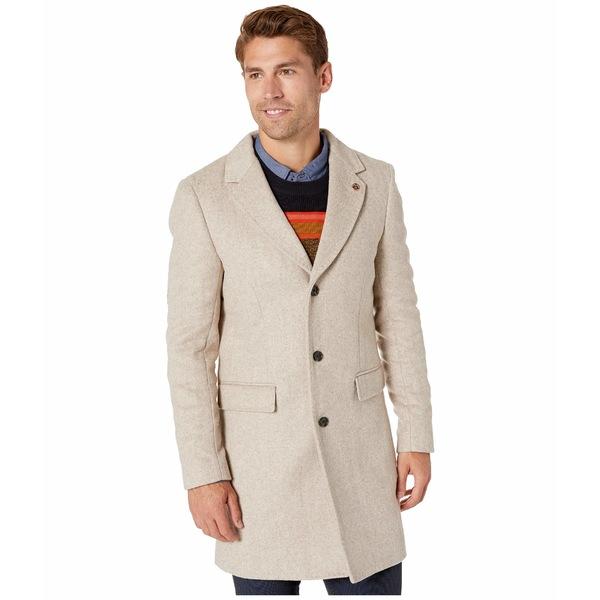 スコッチアンドソーダ メンズ コート アウター Classic Single Breasted Coat Sand Melange