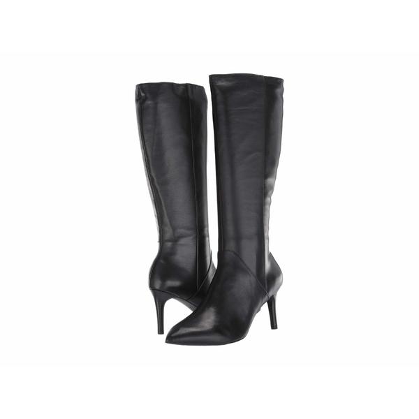 ロックポート レディース ブーツ&レインブーツ シューズ Total Motion Ariahnna Plain Tall Boot Black Leather